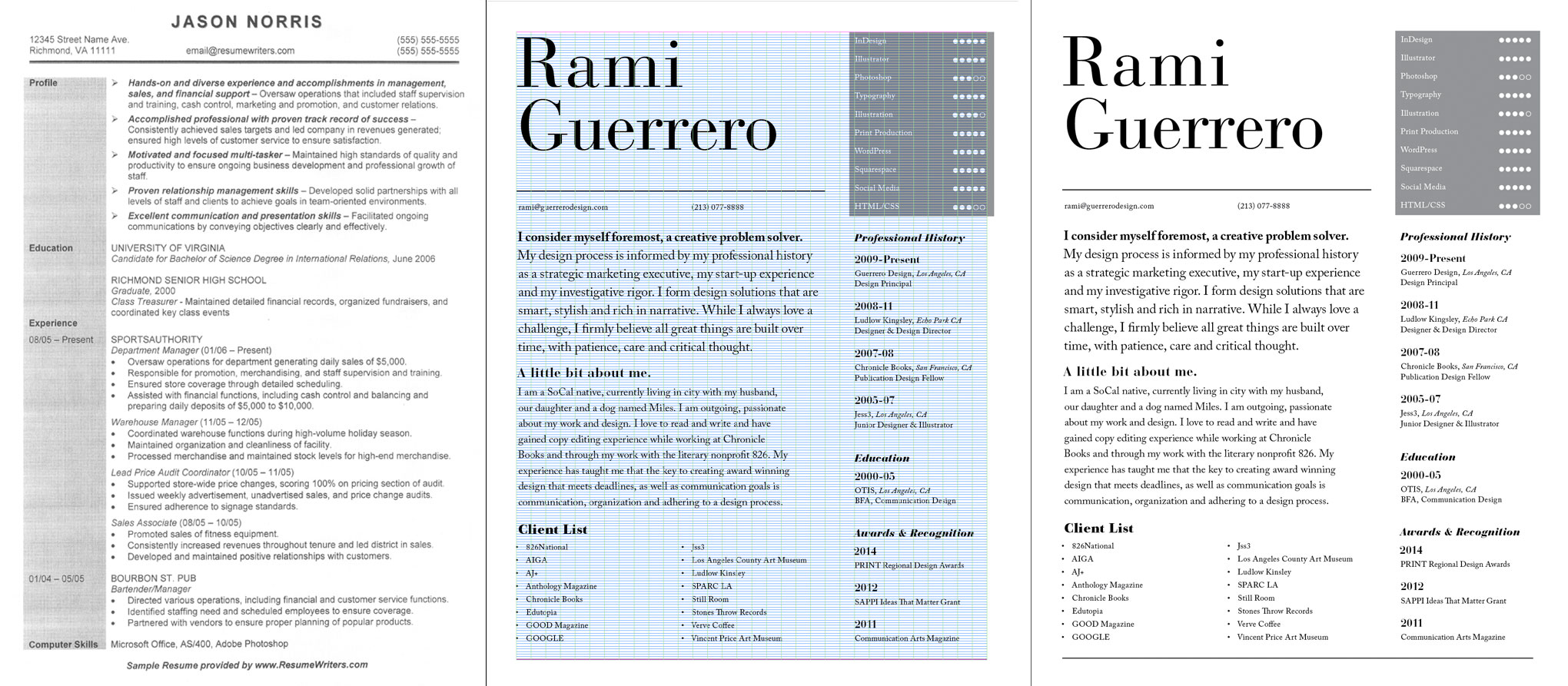 five typography mistakes that prevent your resume from