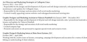 Typographic System Example