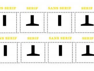 The Battle of the Faces: Serif vs. sans serif