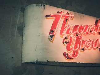 The Thank You Note: How to bring your interest full circle