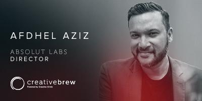 Creative Brew Speaker Afdhel Aziz
