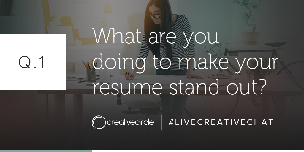 LiveCreativeChat - Resume 101 - Q1