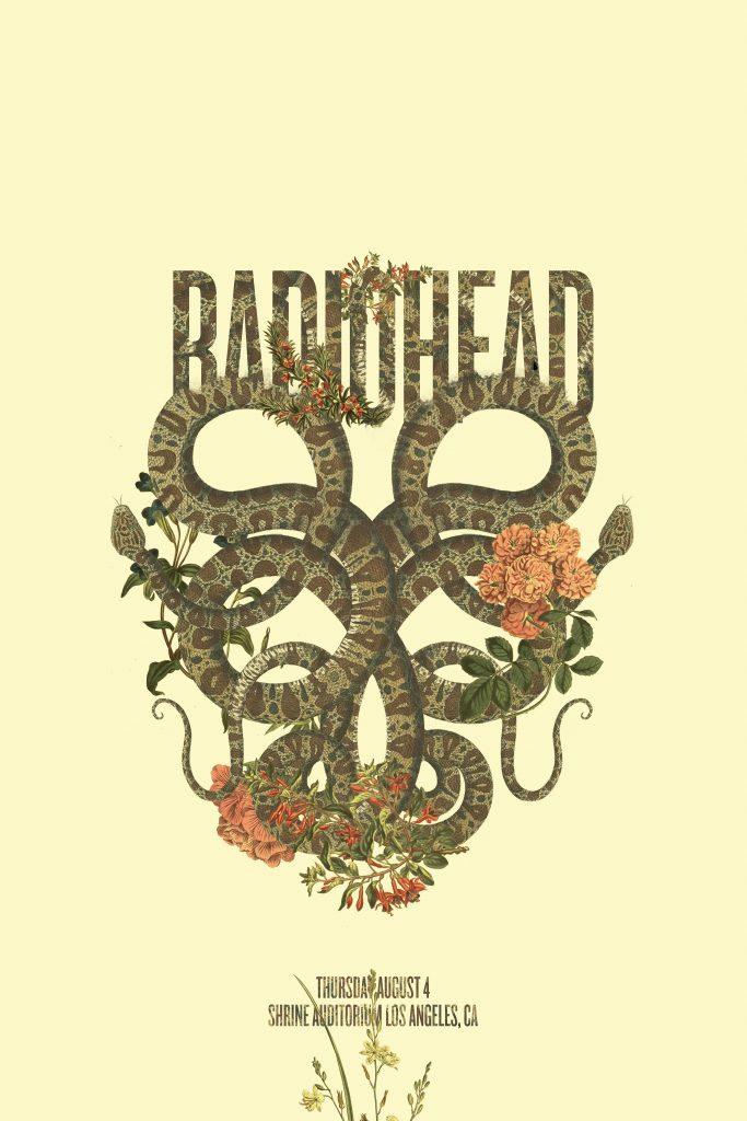 Jordan Lee - Radiohead-Snake-Poster-Art-683x1024