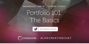 Portfolio 101: The Basics #LIVECREATIVECHAT