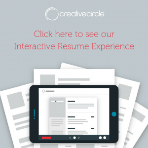 Click here to see our Interactive Resume Experience