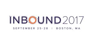 Inbound 2017 Sept. 25-28 Boston, MA
