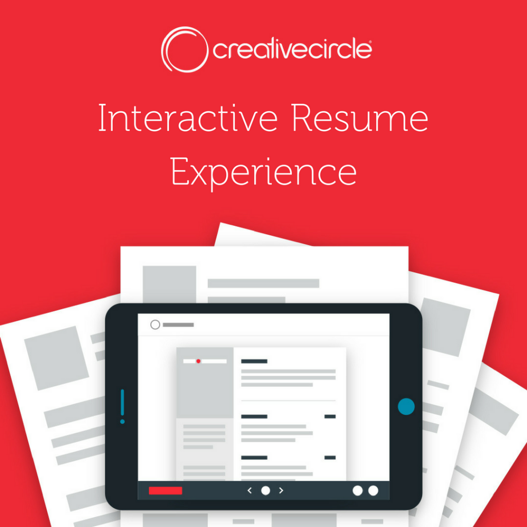 Creative Circle Client Resources - Resume Experience
