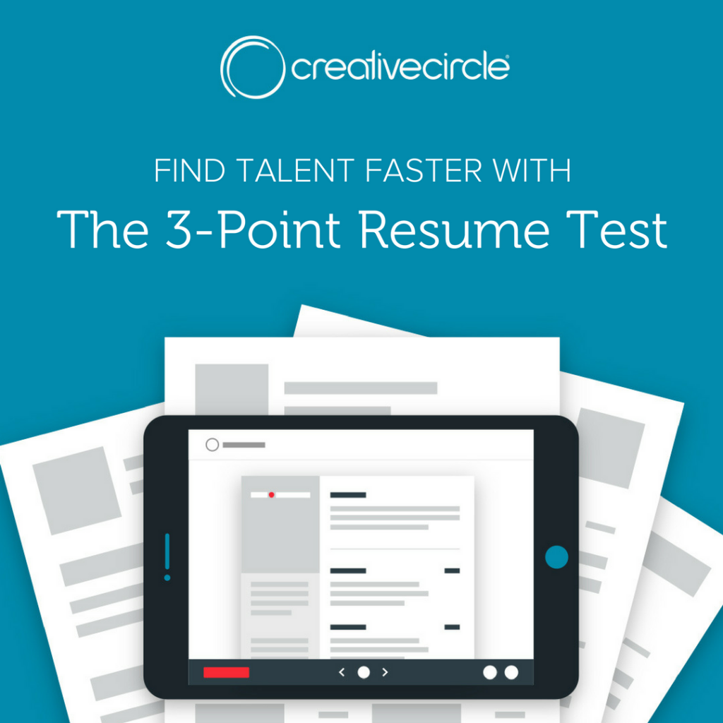 Creative Circle Client Resources - Resume Test