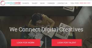 Creative Circle Website Preview