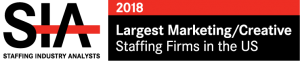 Staffing Industry Analysts 2018 Largest Marketing/Creative Staffing Firms in the US