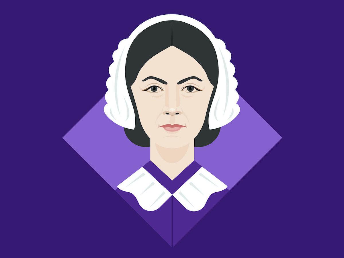 Florence Nightingale The Mother Of Nursing Modern Hygiene Creative Circle