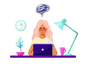illustration-of-confused-woman-sitting-at-computer