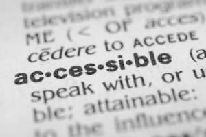 accessible definition