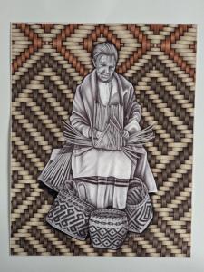 illustration-of-elderly-woman-weaving-basket