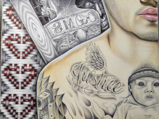 Preston Bark – Illustrator, Tattoo Artist, and Member of the Eastern Band of Cherokee Indians